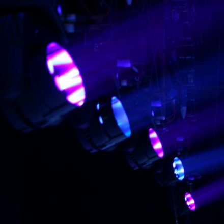 Lighting Hire - Dance2 hire specialists Guildford, Surrey